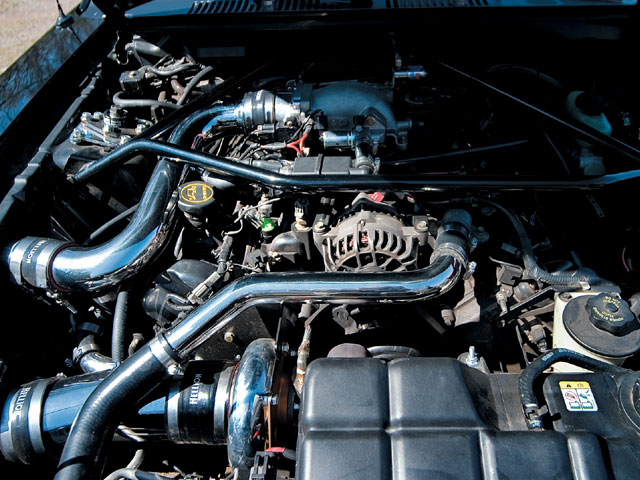 2001 Steeda Mustang Engine 2