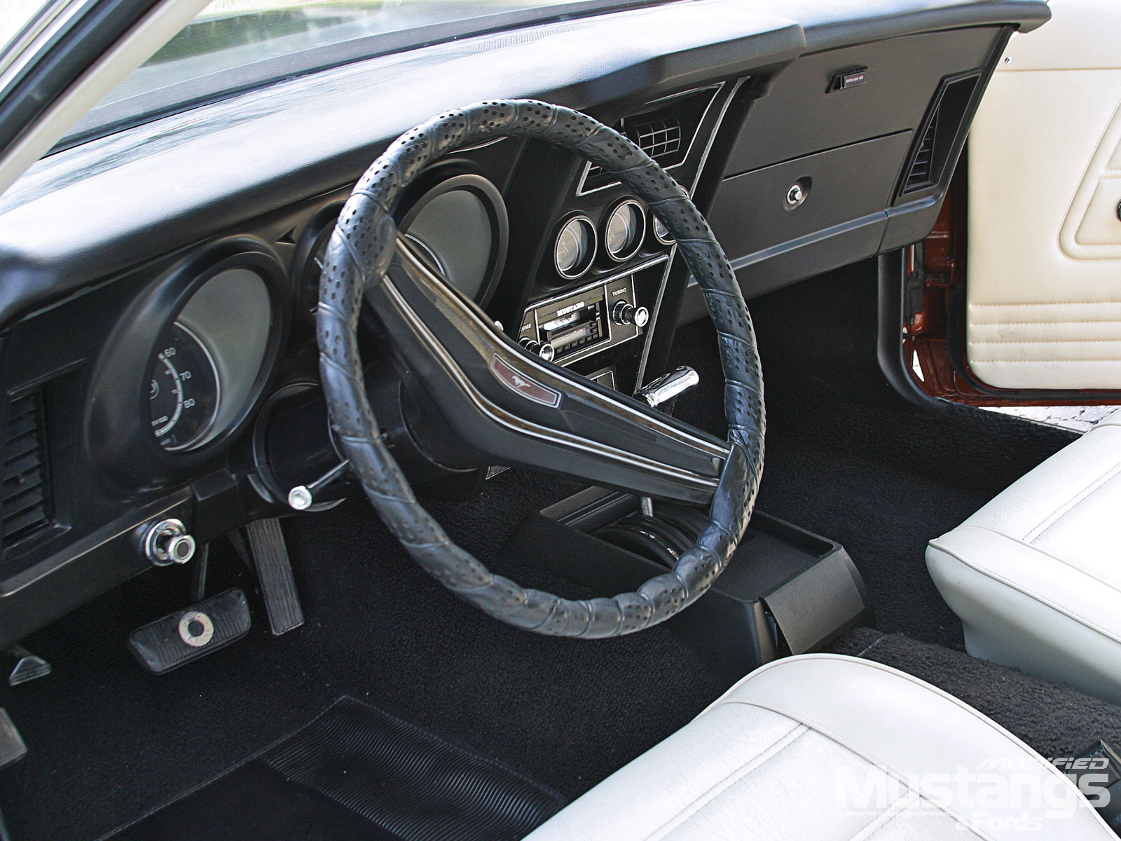 1973 Mach 1 Steering Wheel