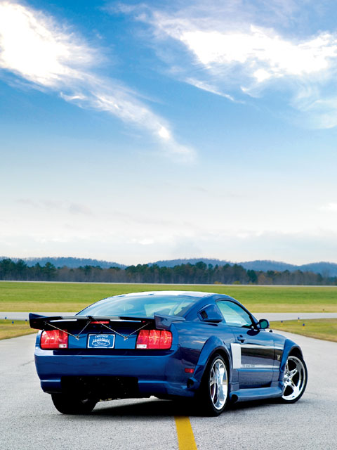 2006 Shadrach Mustang Backview