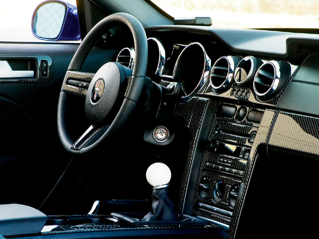 2006 Shadrach Mustang Interior
