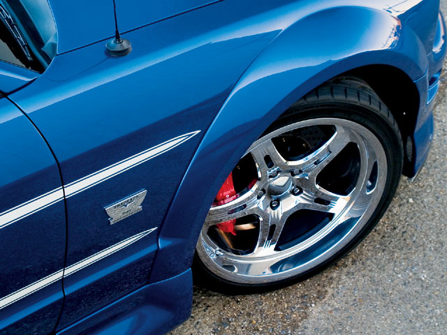 2006 Shadrach Mustang Front Wheels