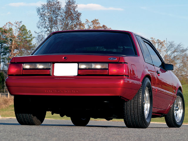1990 Mustang Lx Backview