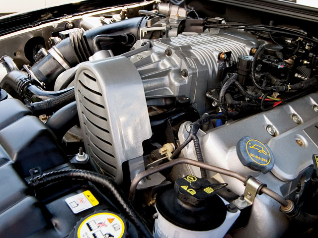 2003 Svt Cobra Engine