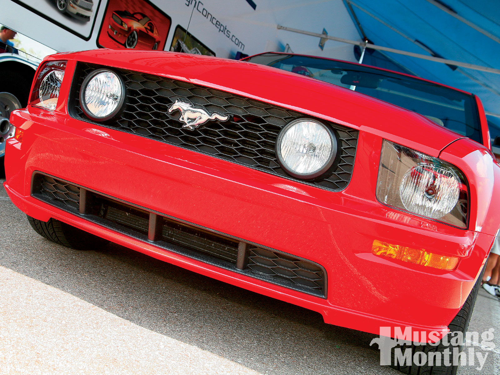 Mump 1001 05  05 S197 Mustang Gt Stock Front End Nose