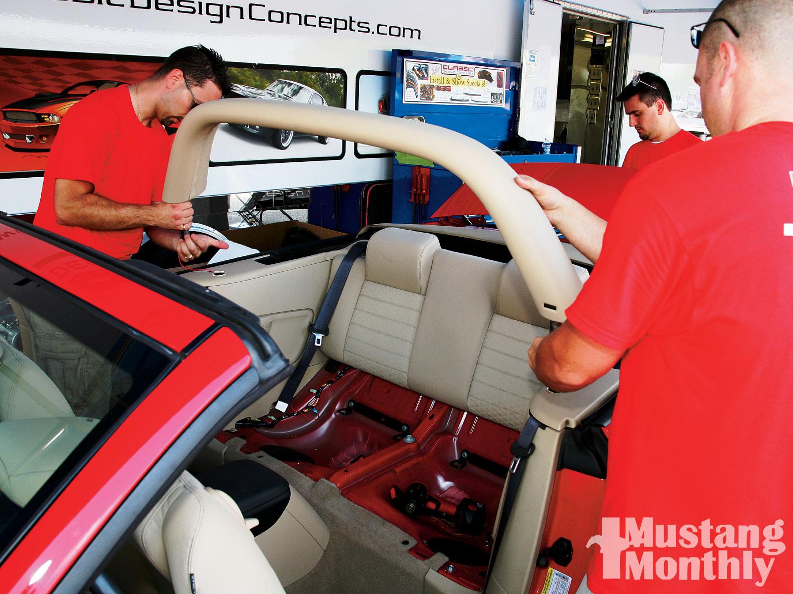 Mump 1001 08  05 S197 Mustang Gt Light Bar