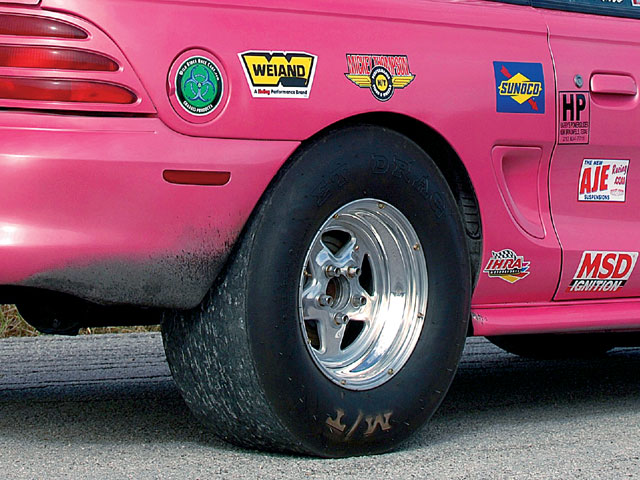 1995 Mustang Ihra Indy Car Tires