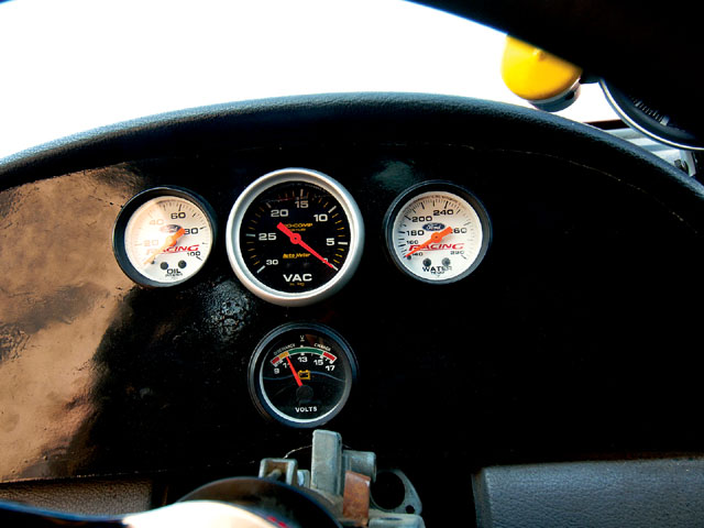 1995 Mustang Ihra Indy Car Speedometer