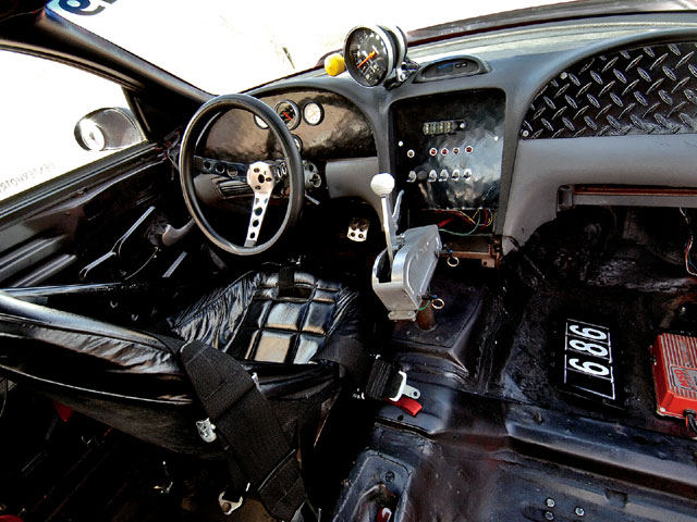 1995 Mustang Ihra Indy Car Interior