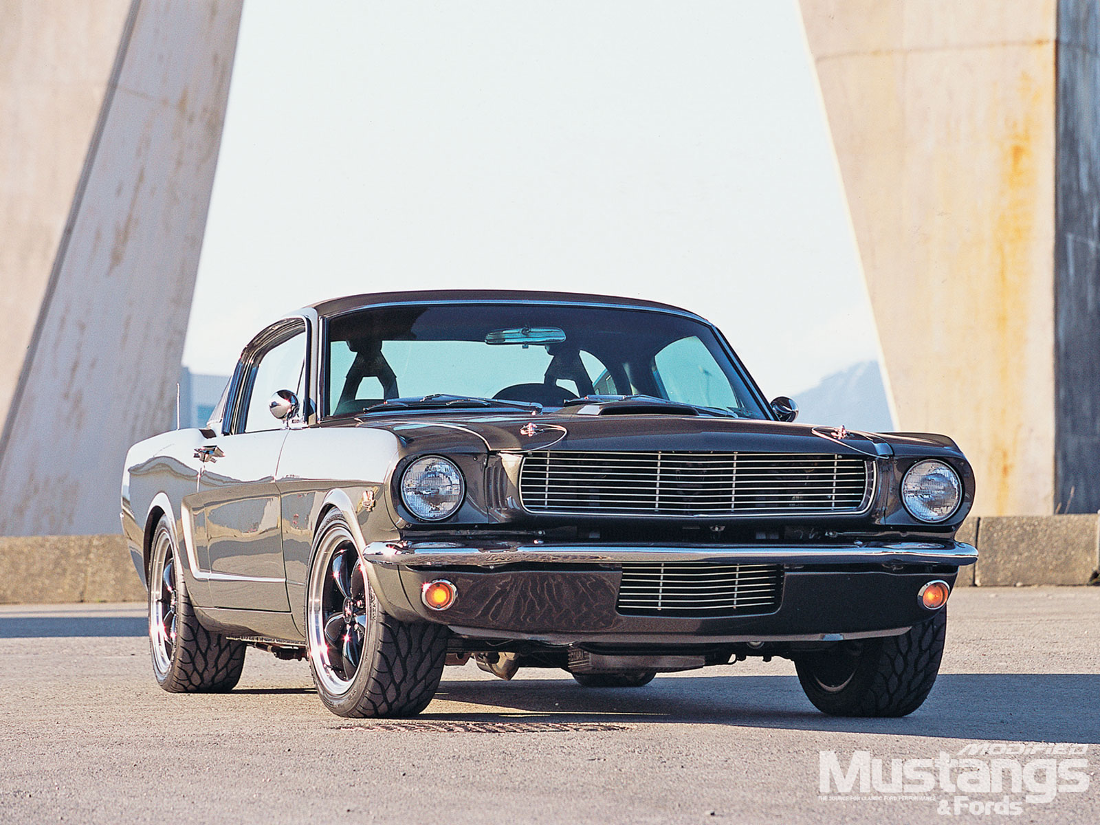 1965 Ford Mustang Fastback Front View