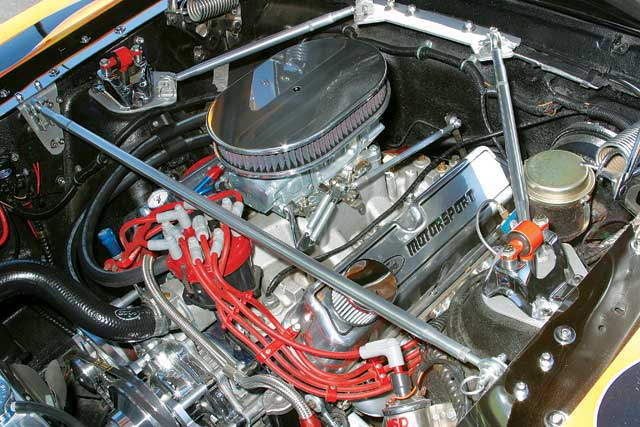1965 Ford Mustang Hardtop Roadster Engine
