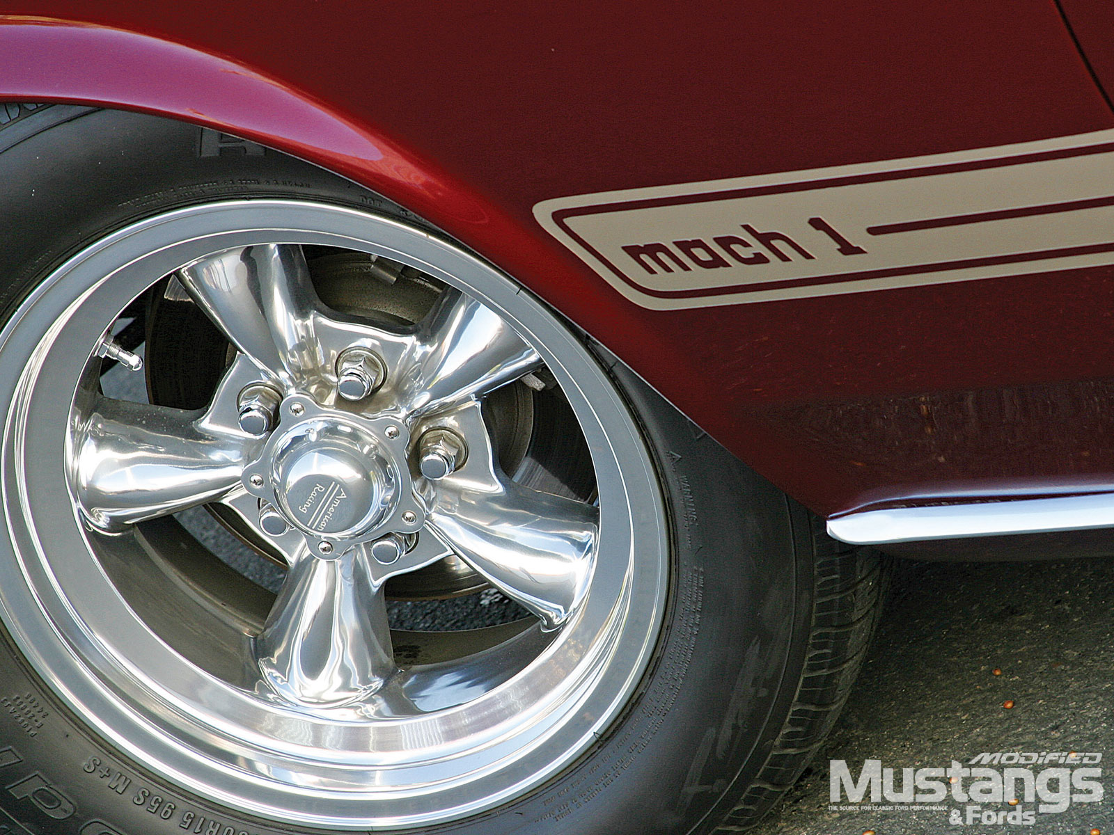 1969 Ford Mustang Mach 1 Tires And Wheels