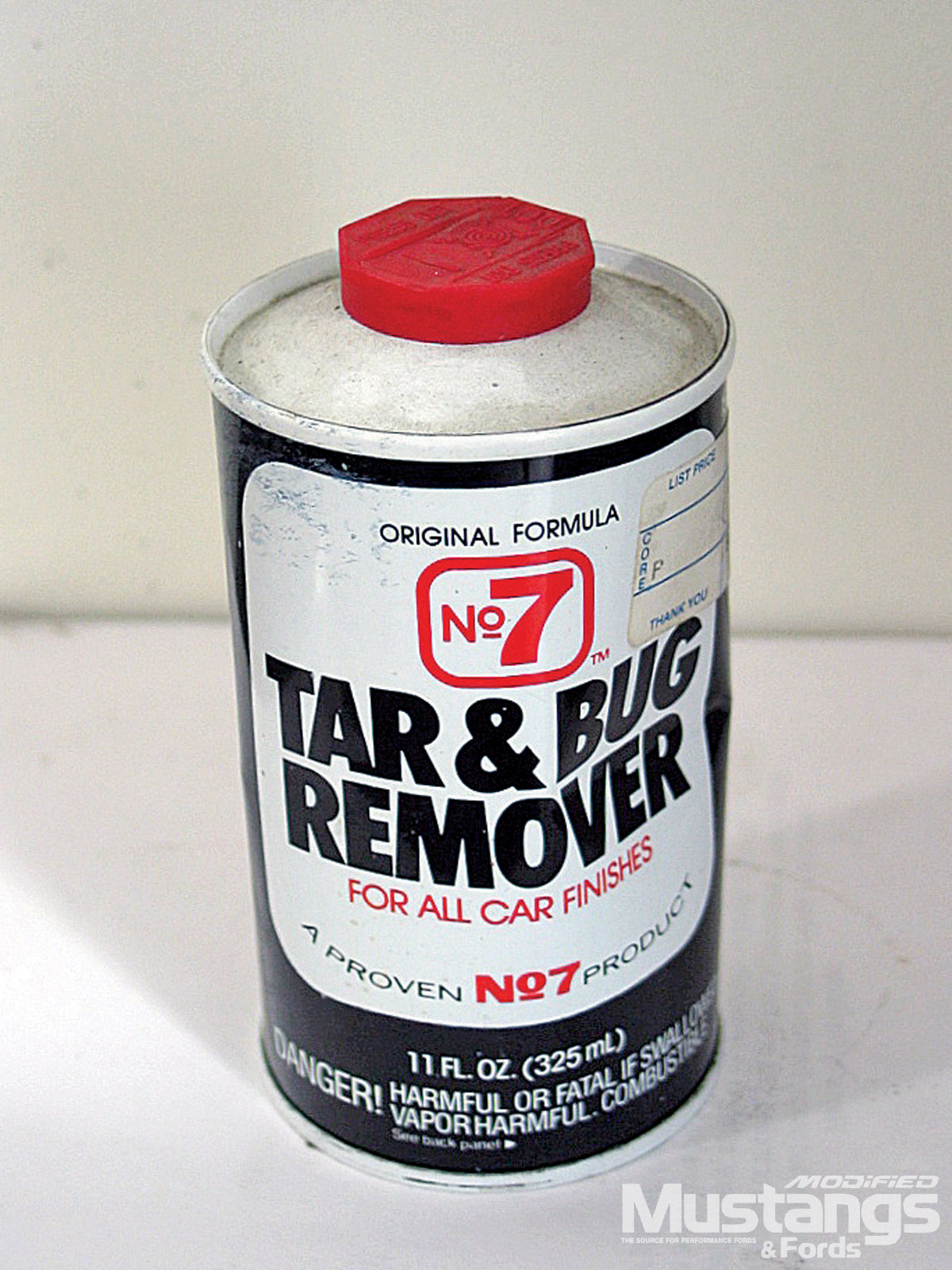 Ford Mustang Vintage Tar And Bug Remover