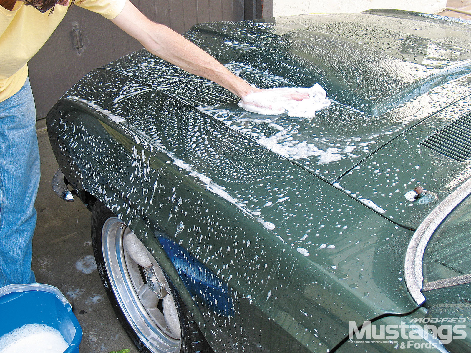 Ford Mustang Vintage Washing Hood