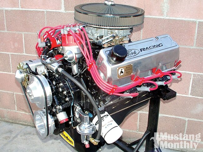 Mump 1006 01 O 351 Cleveland Four Barrel Engine Engine
