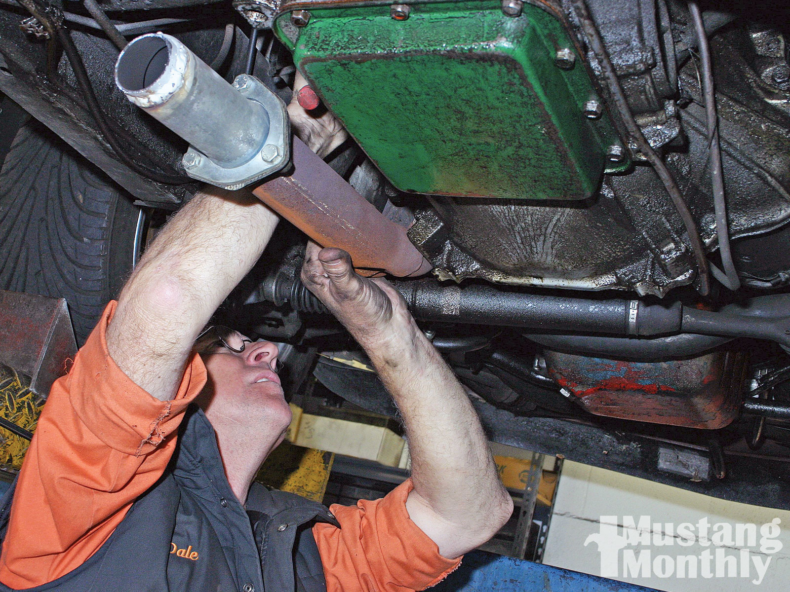 Mump 1006 08 O Dark Side Long Tube Headers Remove Muffler