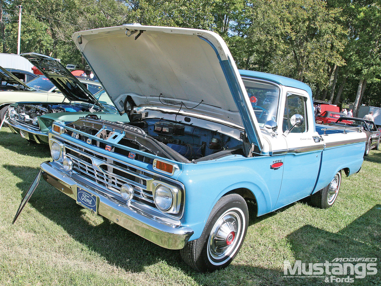 Nitto Tire Nmra World Finals 1966 Ford F100