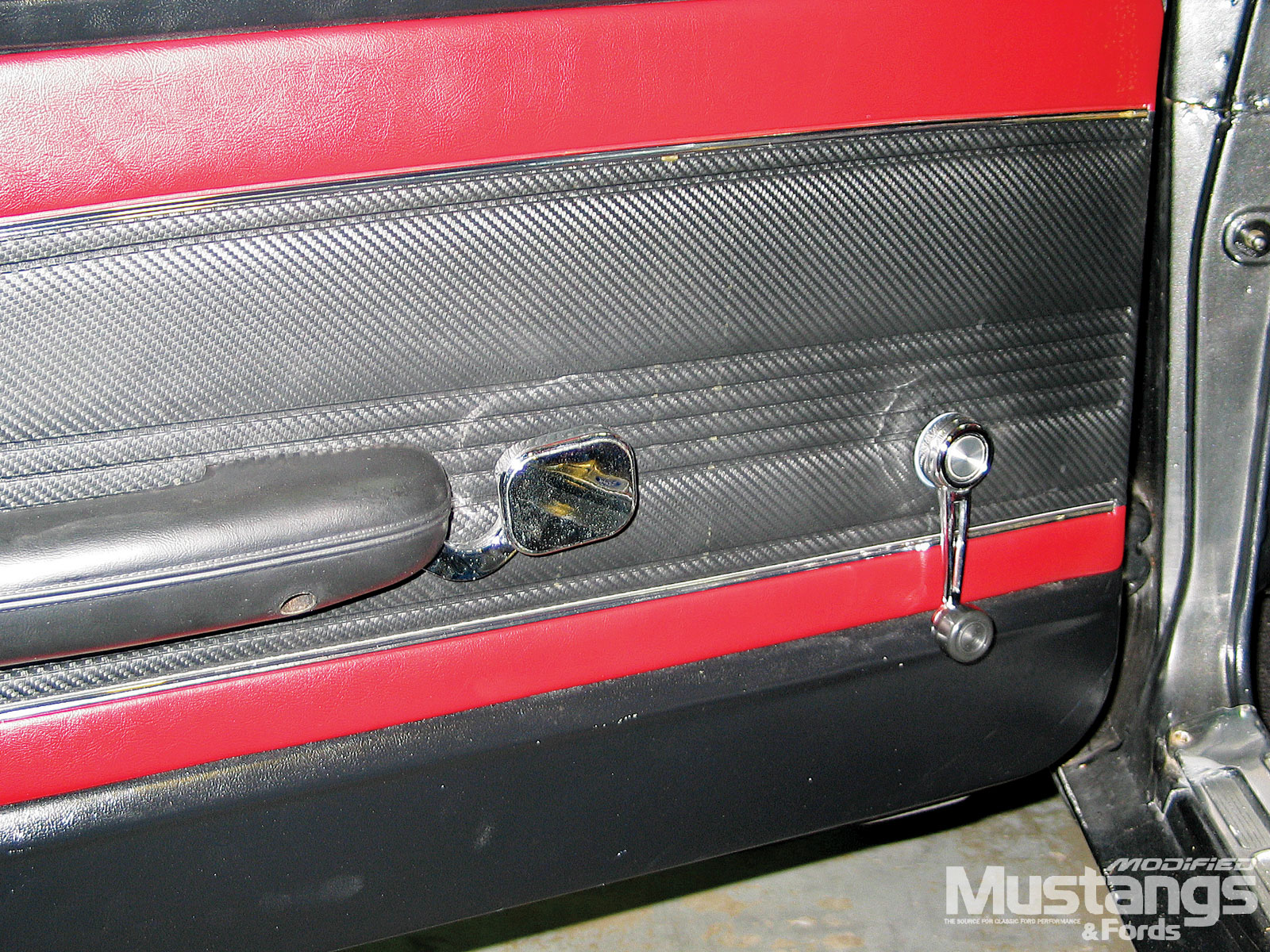 Classic Billet Handles 1968 Mustang Door Panel