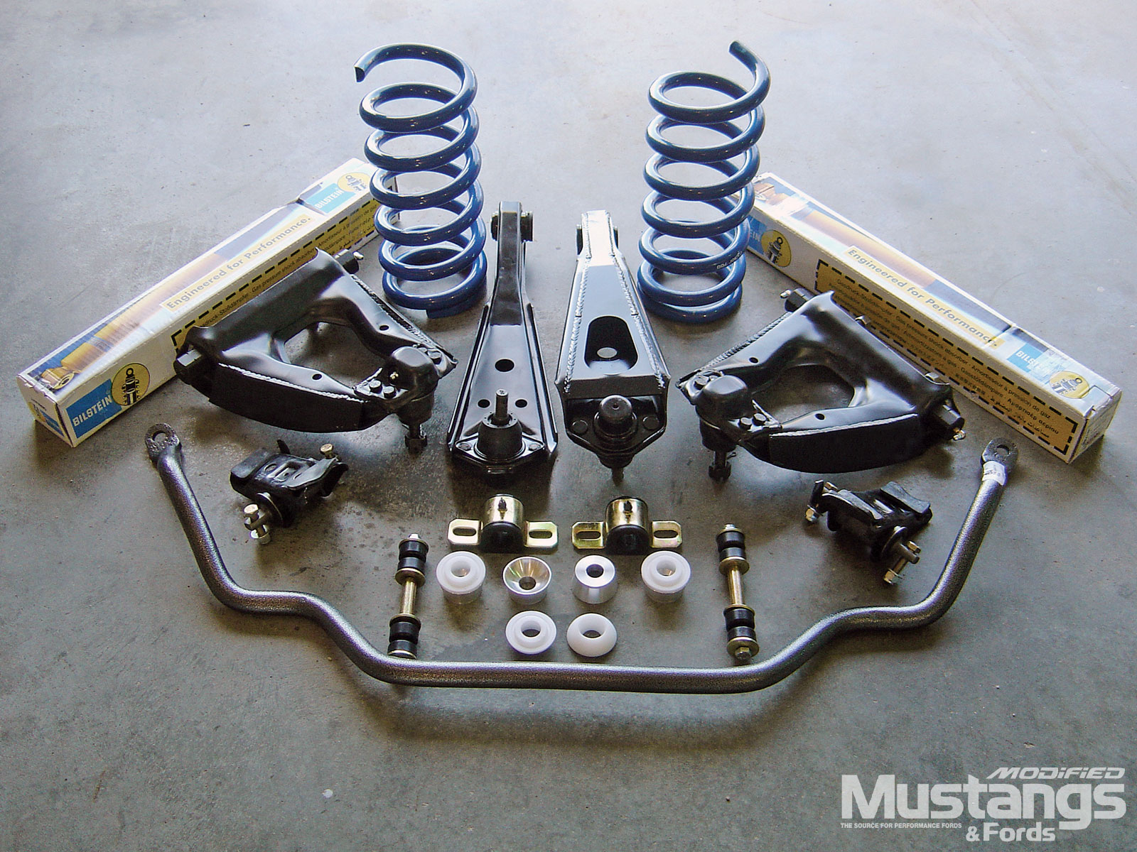 Suspension Systems Boxed Lower Control Arms