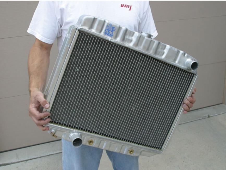 0610_mump_02z Classic_ford_mustang Aluminum_radiator
