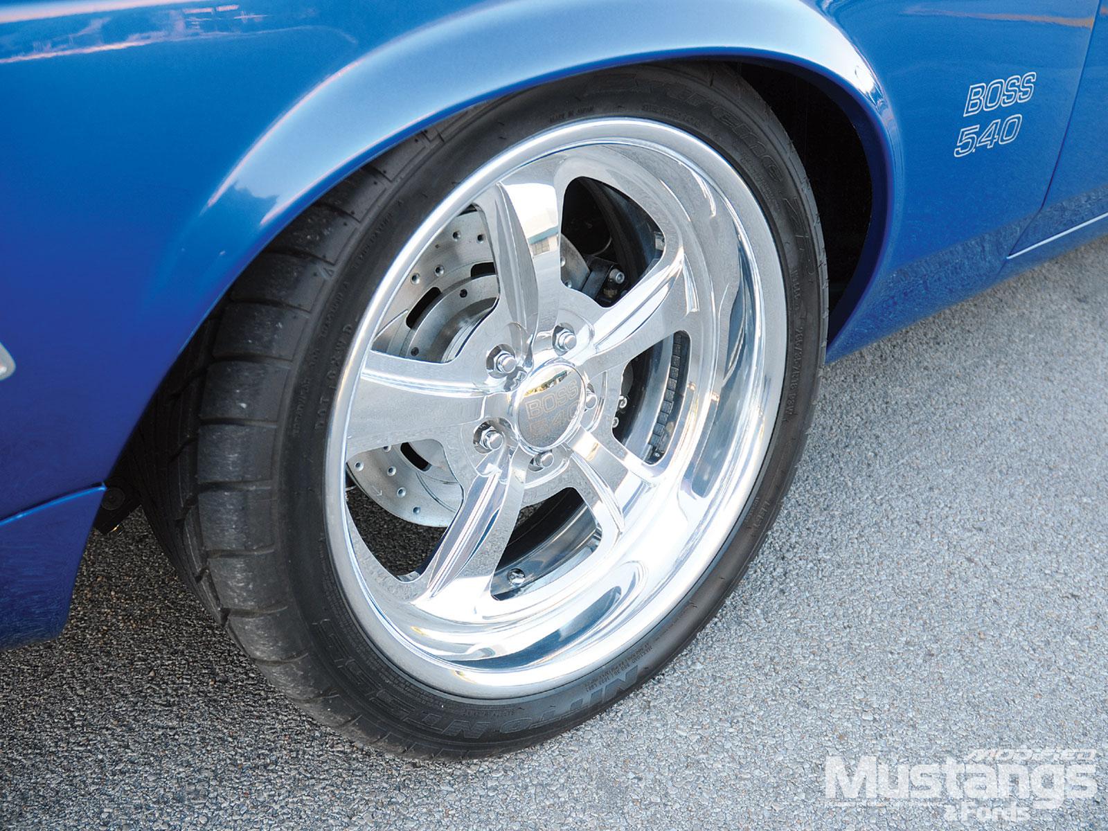 1970 Mustang Sportroof Rear Wheels