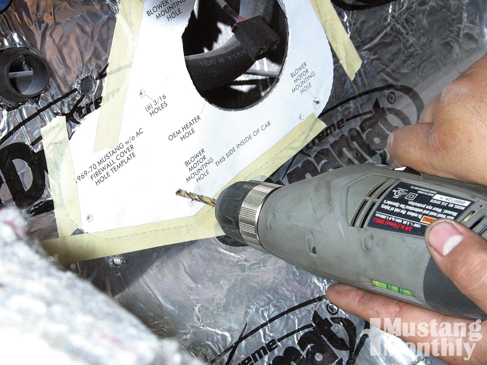 Mump 1007 13 O Air Conditioning Installation Mounting Holes