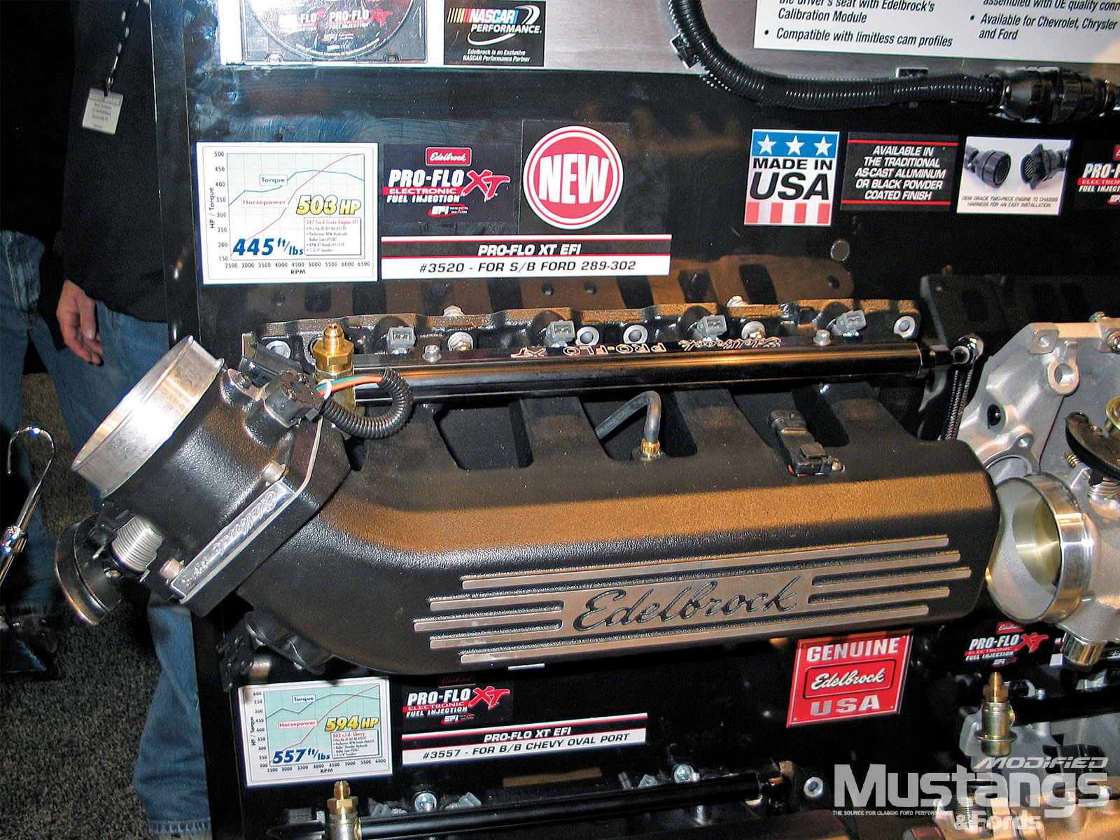 Pri Trade Show Edelbrock Engine