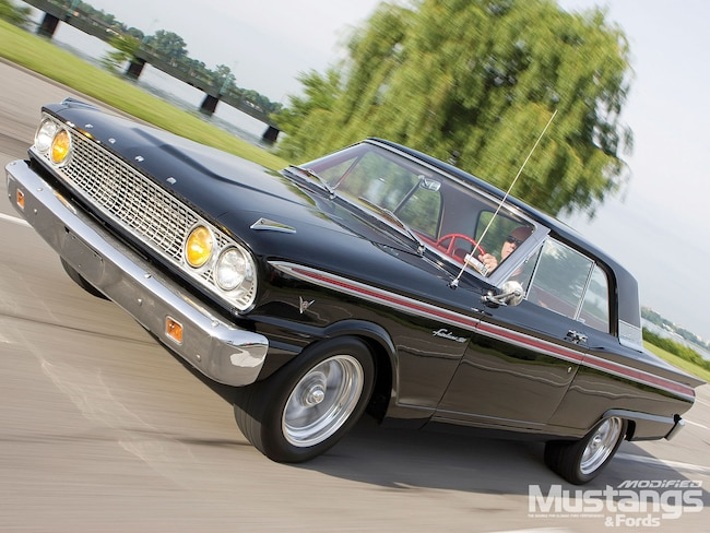 Mdmp 1008 01 O 1963 Fairlane Hardtop Front View