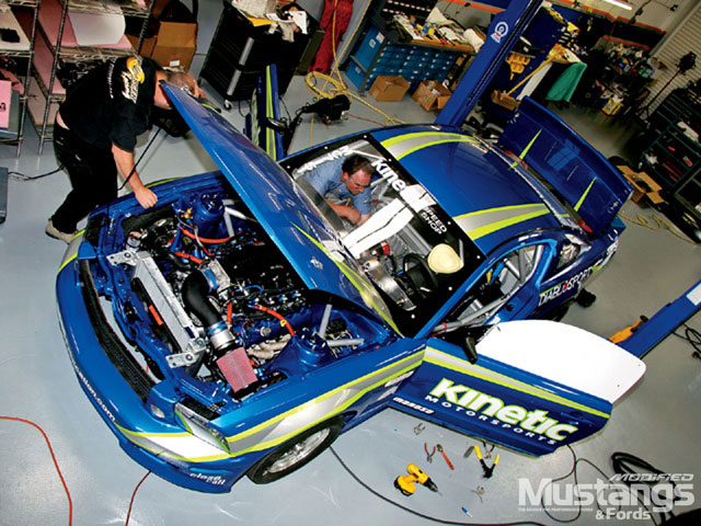 2005 Saleen Drag Car Shop