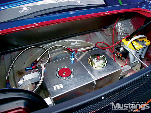 2005 Saleen Drag Car Trunk