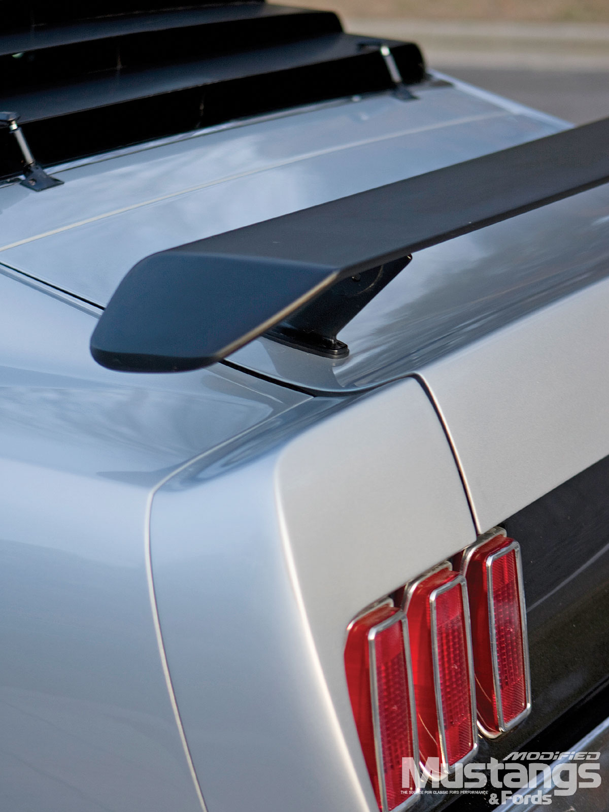 1969 Ford Mustang Sportsroof Tail