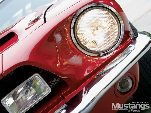 1968 Shelby Mustang Gt350 La Headlight