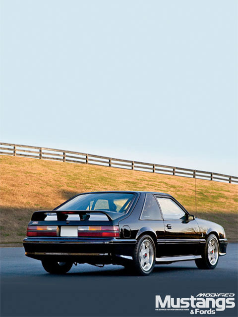 1989 Mustang Gt Backview