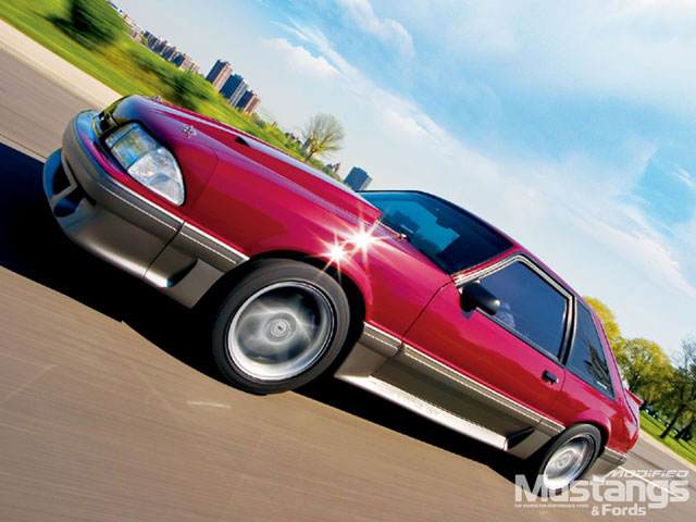 1987 Ford Mustang Gt Sideview