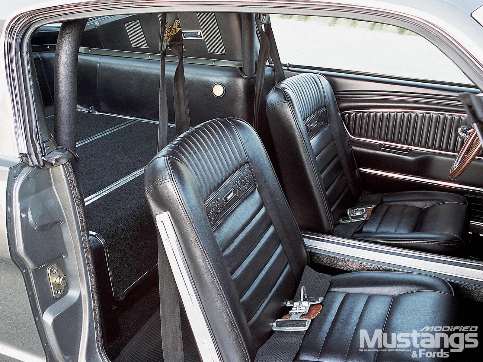 1965 Ford Mustang Fastback Seats