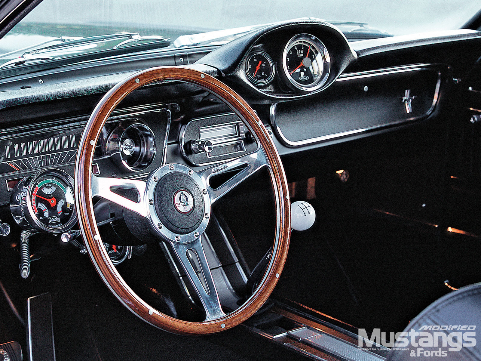 1965 Ford Mustang Fastback Steering Wheel