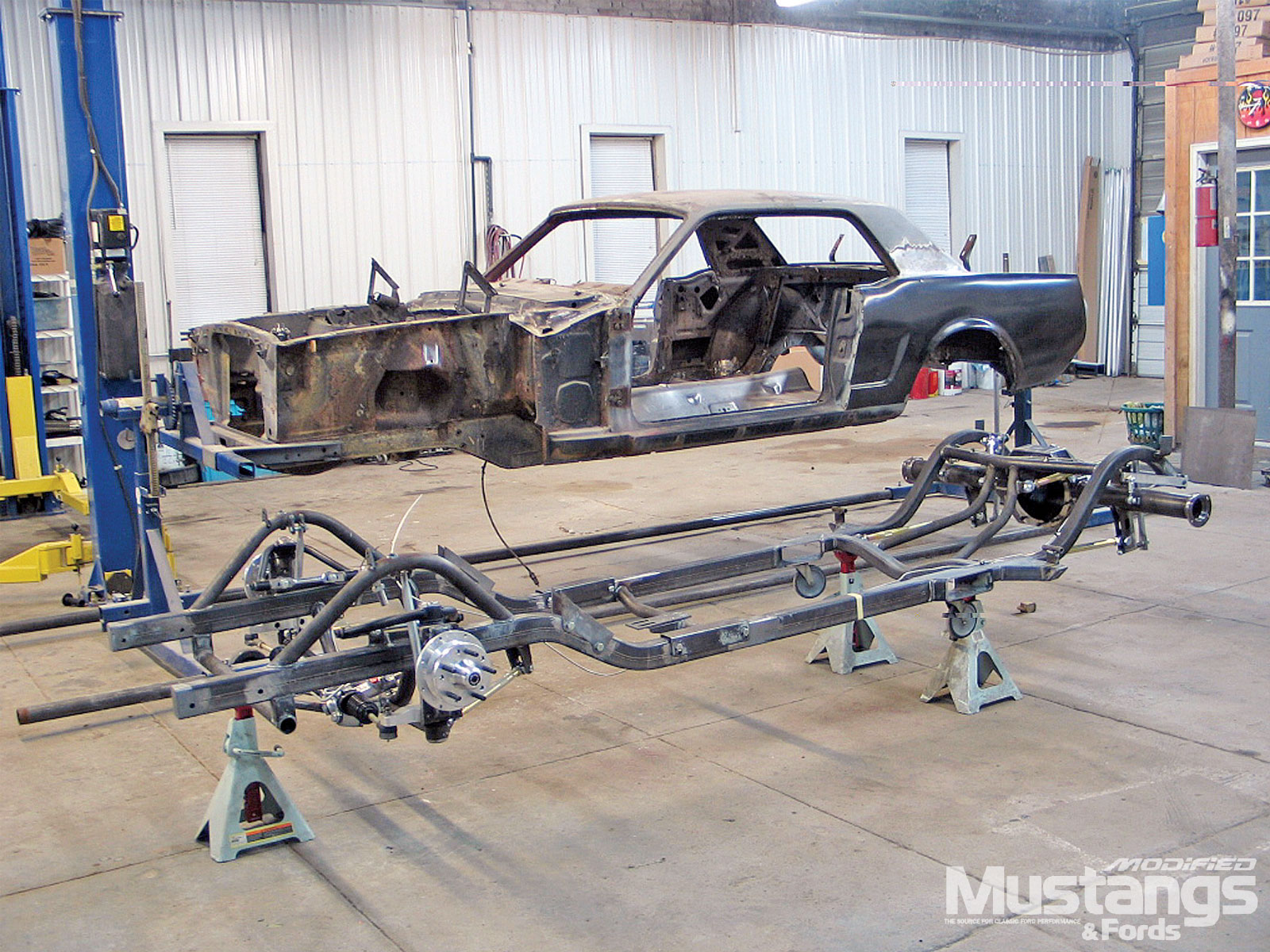 Modular Engine Swap Muscle Up Performance Full Chassis