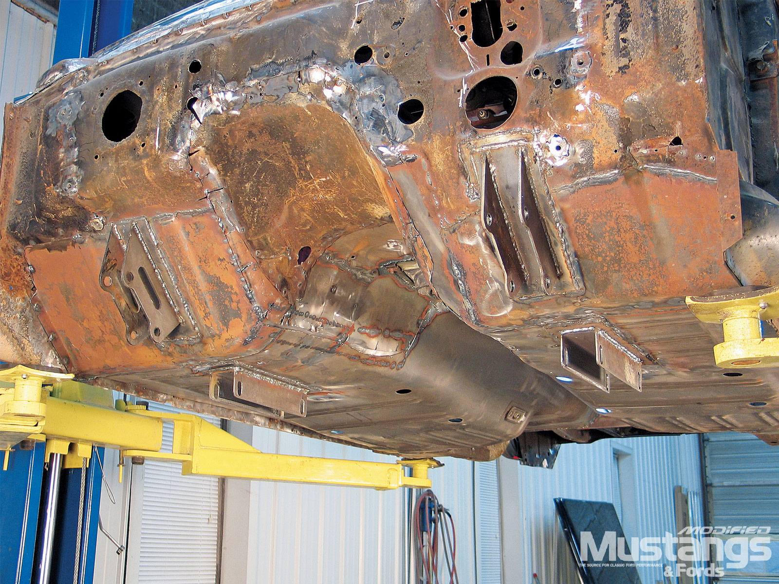 Modular Engine Swap Welding Brackets