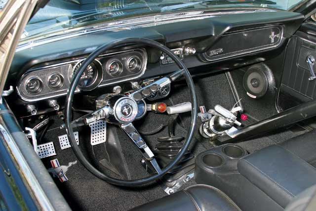 1965 Ford Mustang Hardtop Roadster Interior