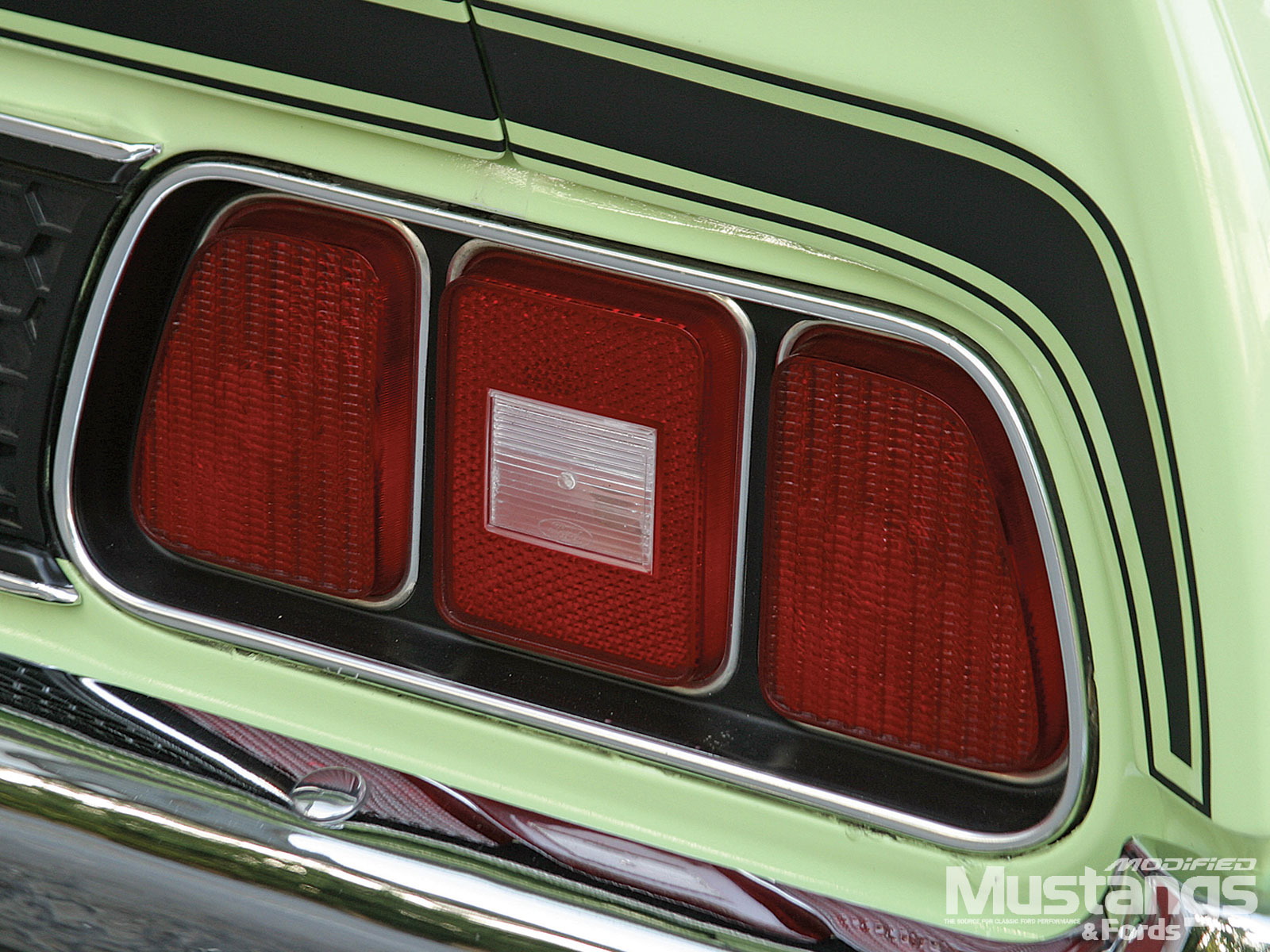 1971 Ford Mustang Mach 1 Back Headlights