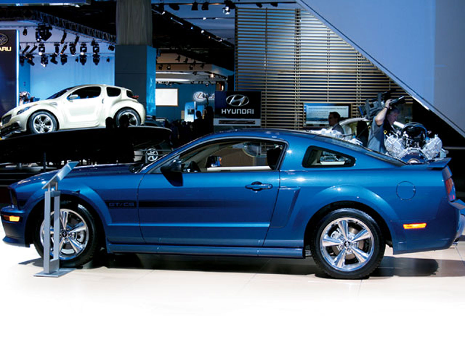 2007 Ford Shelby 500GT Mustang Front View