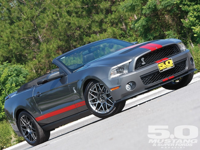 M5lp 1010 01 O 2011 Ford Mustang Shelby Gt500 Convertible Shelby