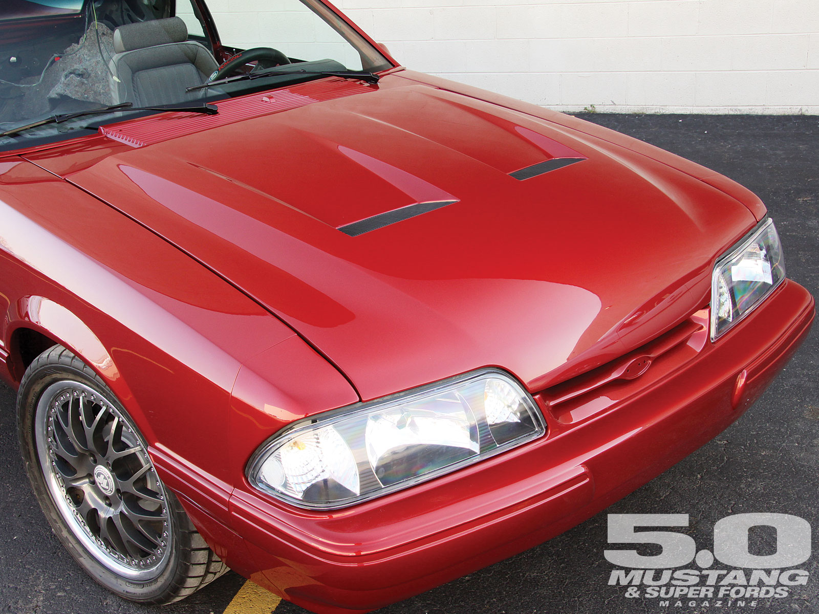 M5lp 1010 08 O 1988 Ford Mustang Fox 500 Cervinis Heat