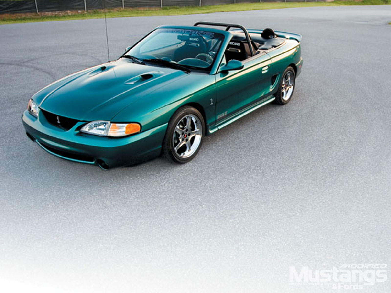 1997 Ford SVT Mustang Cobra Side Angle