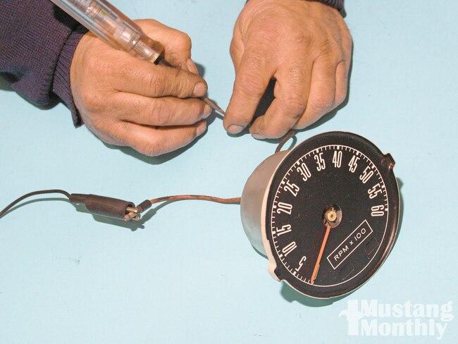 Mump 1005 01 O Mustang Instruments Tech Mustang Gagues