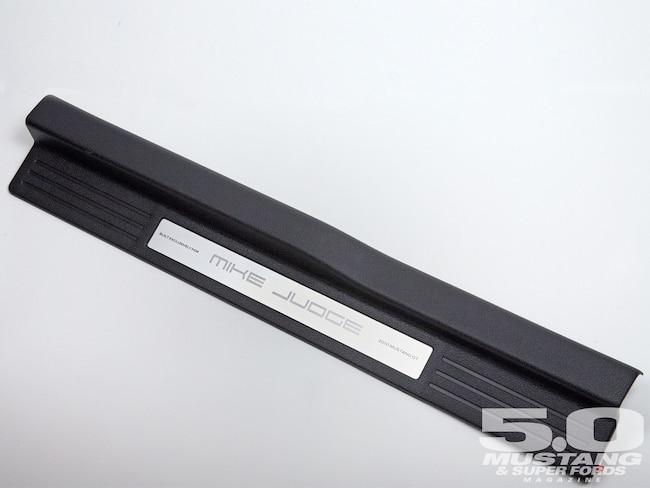 M5lp 1006 02 Z S197 Custom Illuminated Sill Plates Light Entertainment Scuff Plate Assembly