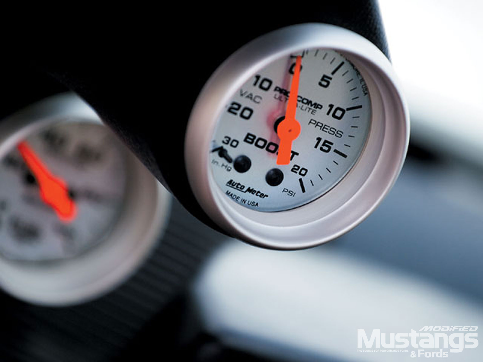 1991 Ford Mustang Lx Turbo Meter