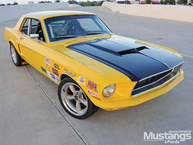 Mdmp 1006 01 O 1968 Ford Mustang Coupe Mustang