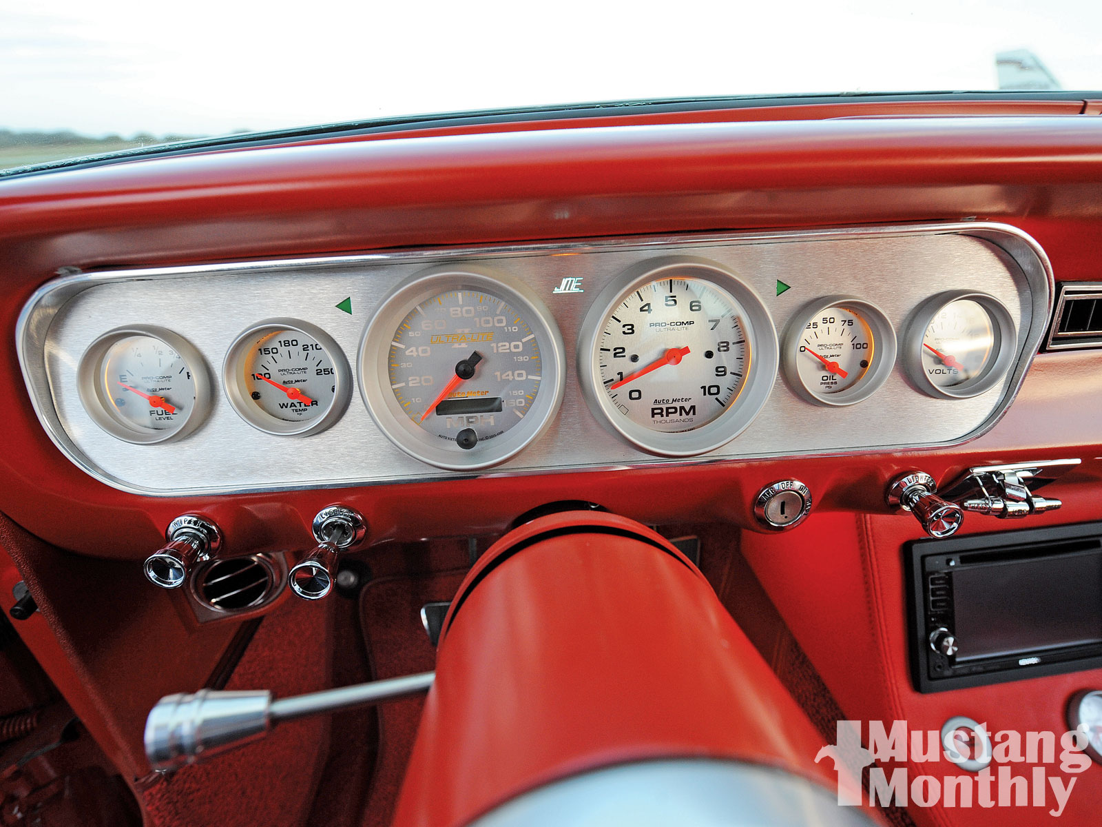 Mump 1006 11 O 1965 Ford Mustang Fastback Dashboard