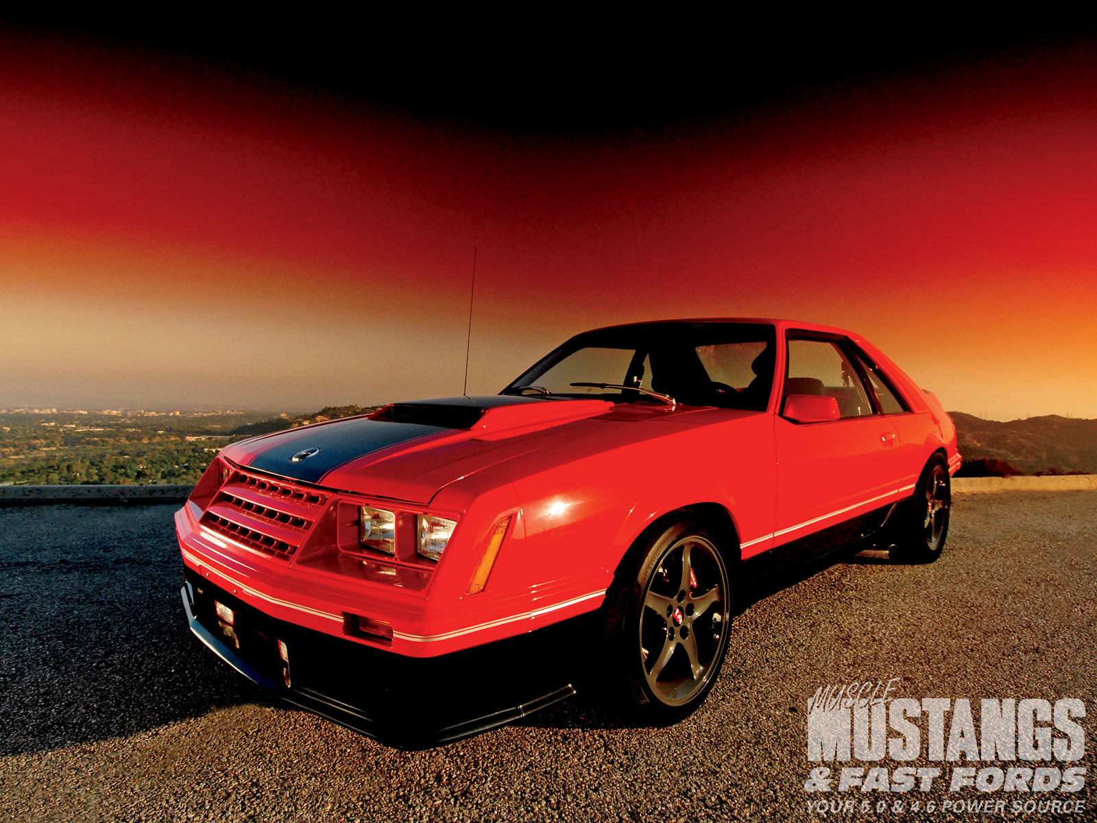 1982 Ford Mustang Gt Modified Muscle Mustangs Fast Fords