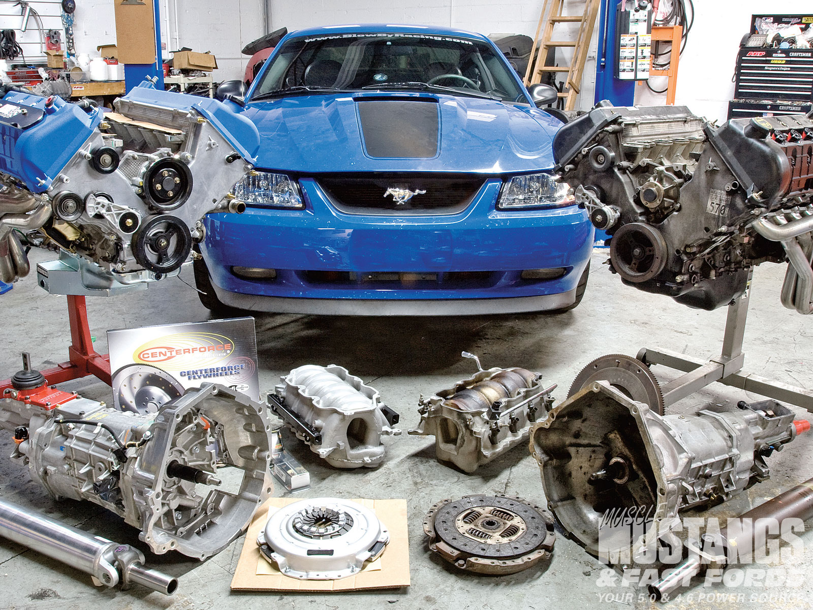 2003 ford mustang mach 1 ford racing performance parts aluminator crate engine photo image gallery